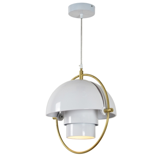 Lantern Ceiling Fixture - Matte White