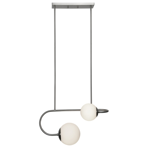 Hanover Ceiling Fixture - Satin Nickel