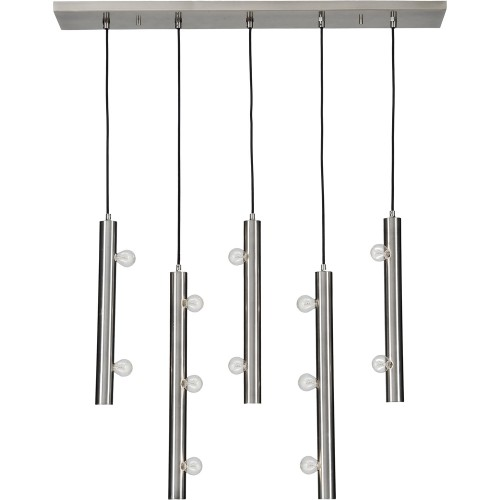 Saxton Ceiling Fixture - Pewter Plated