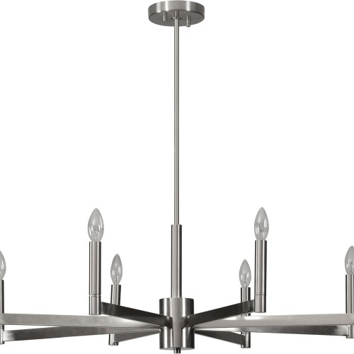 Bayfield Ceiling Fixture - Satin Nickel