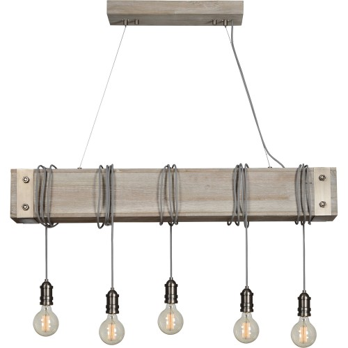 Suzette Ceiling Fixture - White Wash