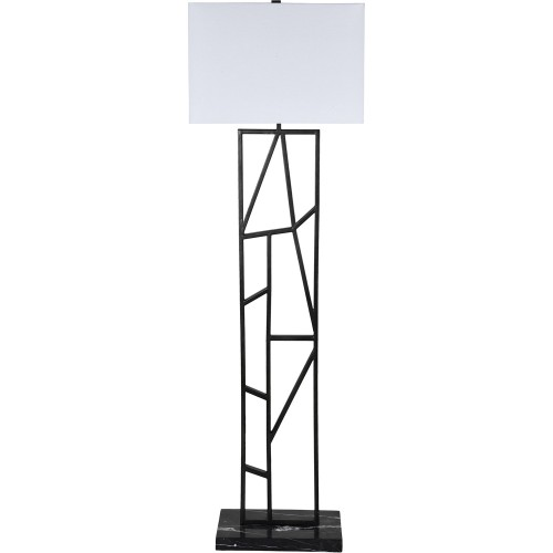 Quin Floor Lamp - Graphite Grey