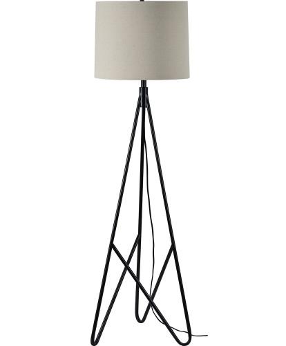 Stacey Floor Lamp - Matte Black