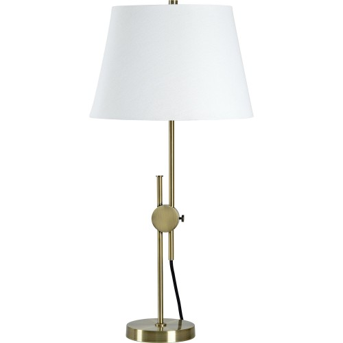Carswell Table Lamp - Antique Brass
