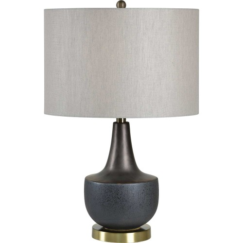 Rogers Table Lamp - Antique Brass