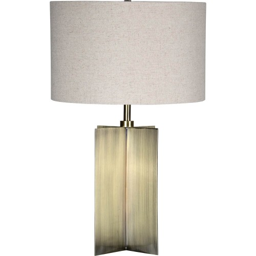 Belanger Table Lamp - Antique Brass