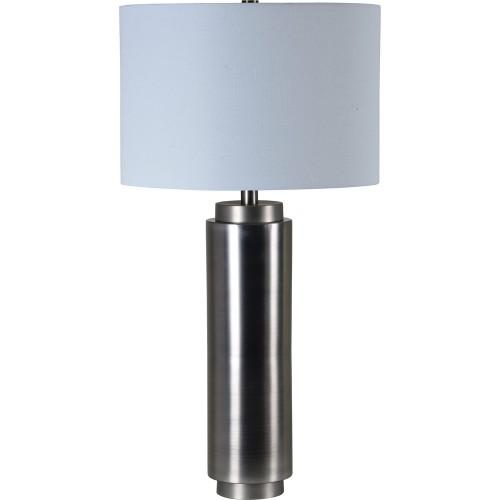 Pickering Table Lamp - Grey Satin Nickel
