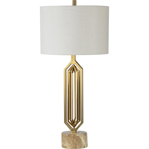 Dawes Table Lamp - Marble
