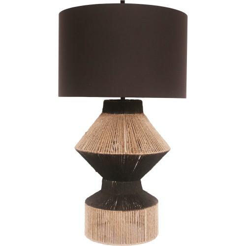 Dano Table Lamp - Natural/Black