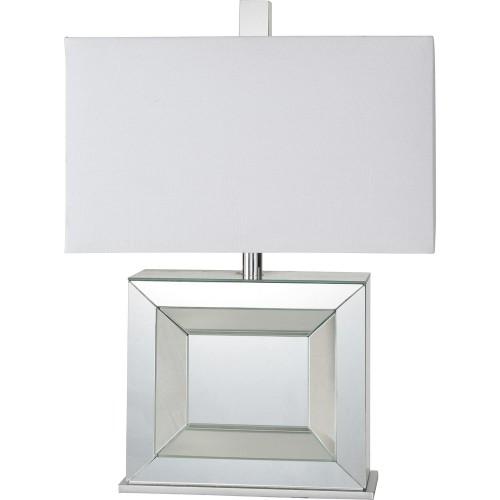 Saca Table Lamp - Silver Mirror