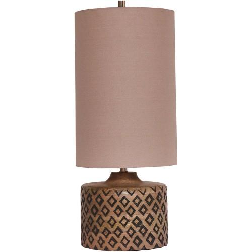 Marsha Table Lamp - Natural/Black