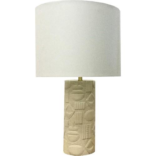 Merton Table Lamp - Cream