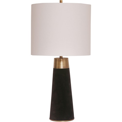 Milaren Table Lamp - Black/Antique Brass