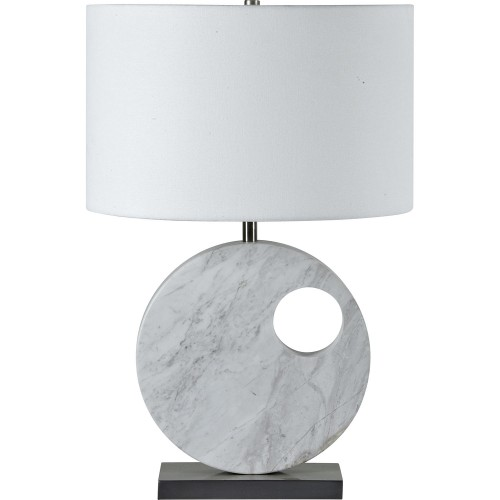 Bellair Table Lamp - Satin Nickel