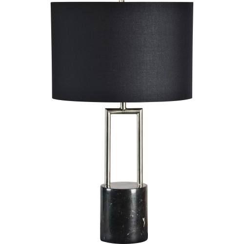 Chartwell Table Lamp - Black Marble