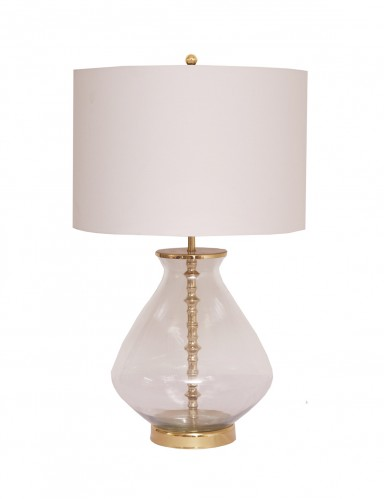 Irvina Table Lamp - Shiny Brass