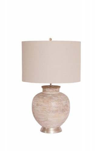 Gretta Table Lamp - Nickel