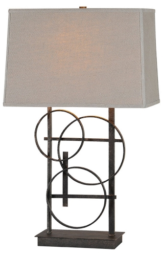 Aria Table Lamp - Antique Bronze