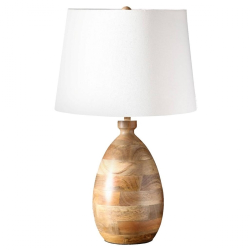 Agathe Table Lamp - Natural wood