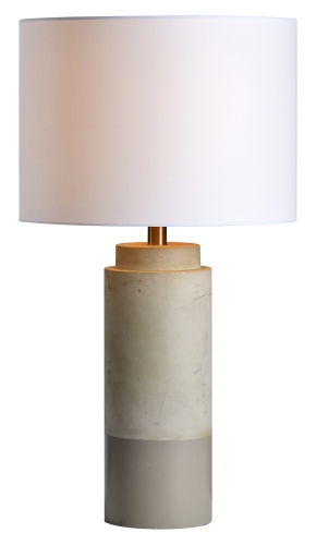Lagertha Table Lamp - Sand Brown