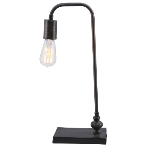 Oxford Table Lamp - Black Zinc