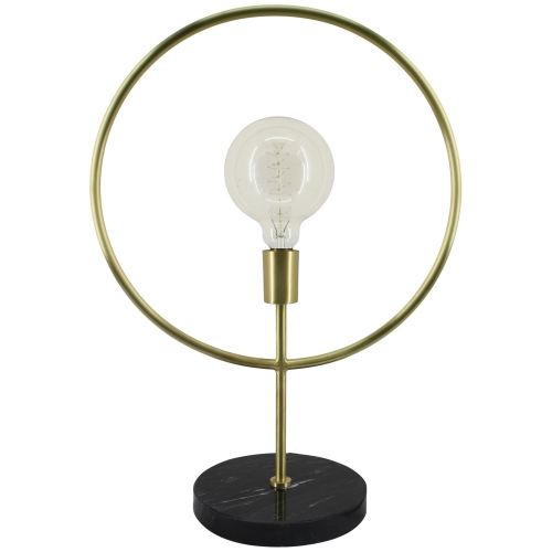 Lincoln Table Lamp - Black/Matte Brass