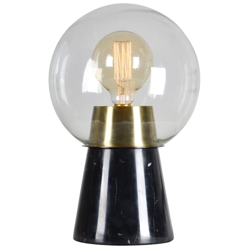 Oswald Table Lamp - Antique Brass/Black