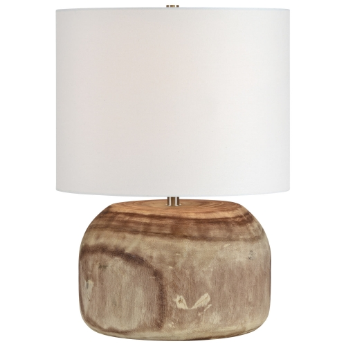 Maybury Table Lamp - Natural Wood
