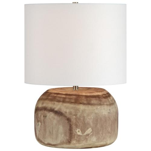 Maybury Table Lamp - Natural Wood