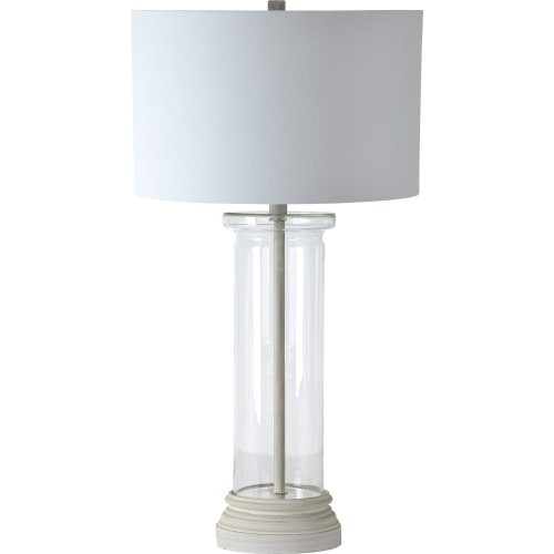 West Table Lamp - White Wash