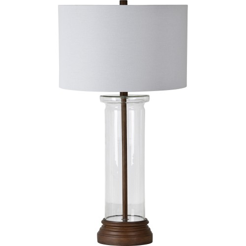 Summerby Table Lamp - Wood Grain