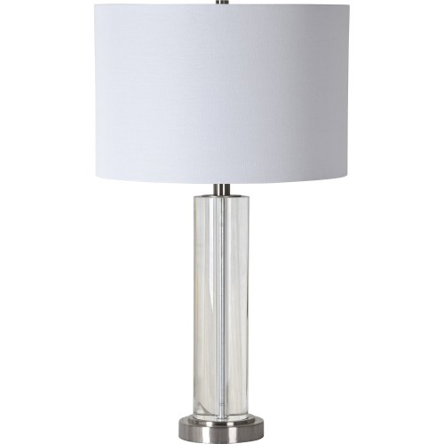 Sherma Table Lamp - Brushed Nickel