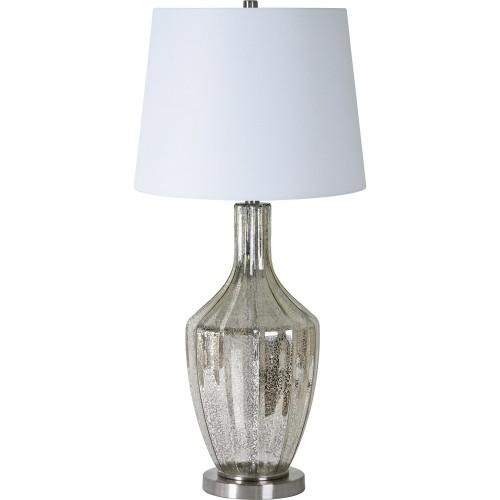 Stan Table Lamp - Brushed Nickel