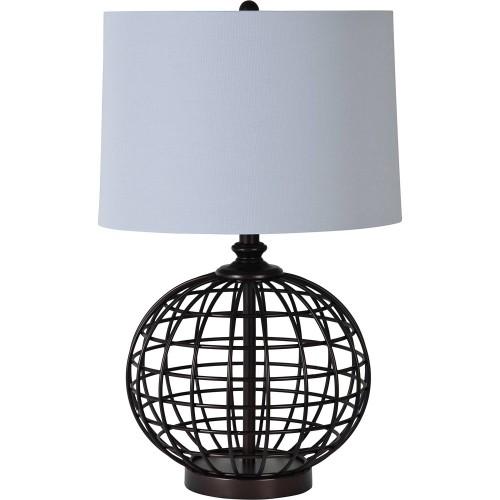 Sterlington Table Lamp - Black