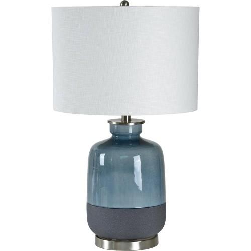 Calandro Table Lamp - Satin Nickel