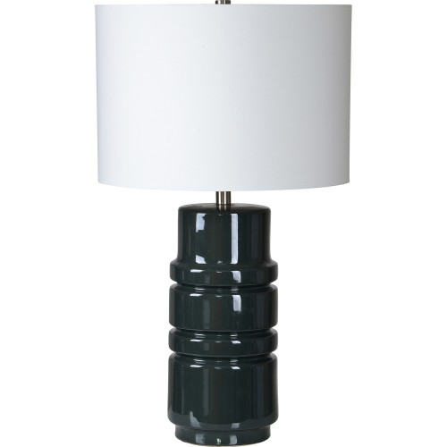 Caldwell Table Lamp - Dark Grey Blue