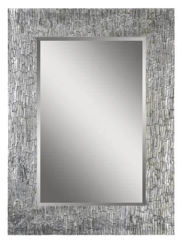 Portrait Santa Fe Mirror - Silver Leaf