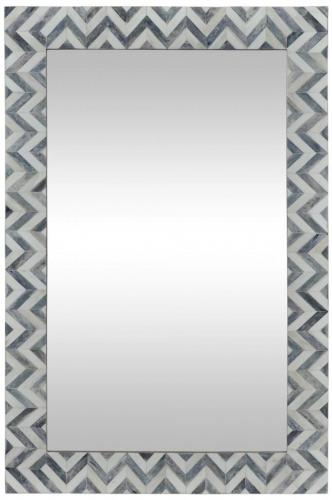 Abscissa Mirror - Grey/Ivory