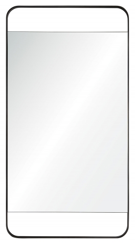 Tiffey Mirror - Charcoal Grey