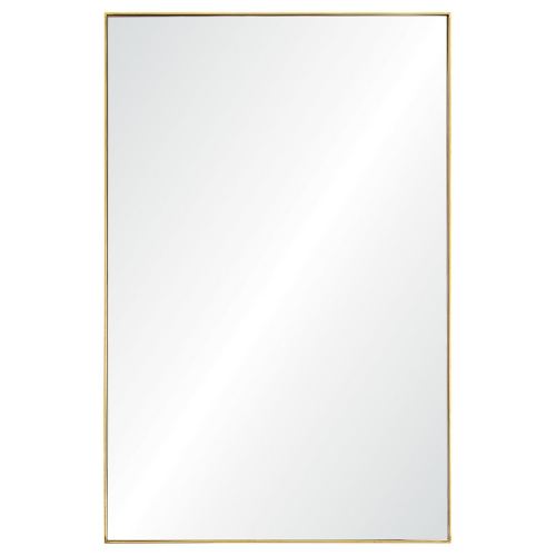 Florence Rectangular Mirror - Gold Leaf