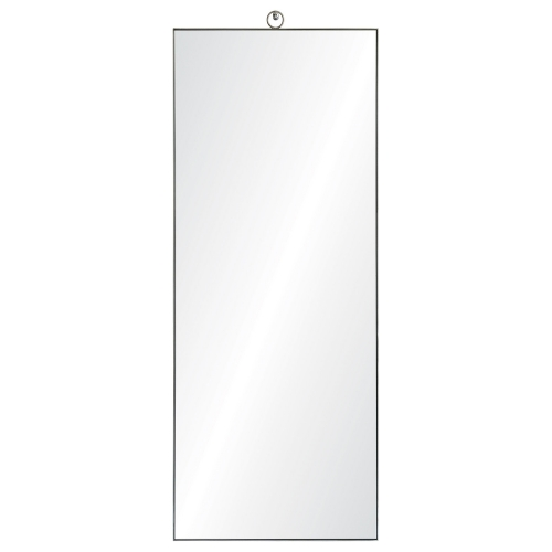 Filbert Rectangular Mirror - Stainless Steel