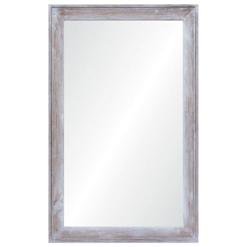 Madison Rectangular Mirror - Wood Finish