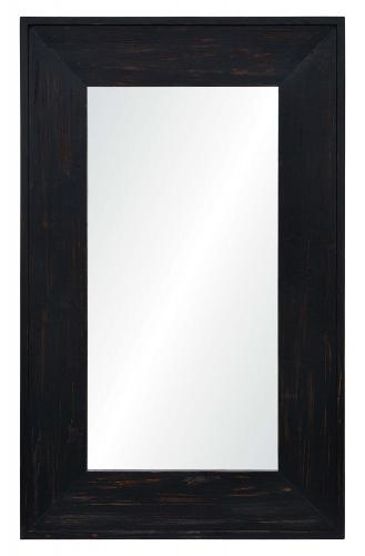 Ellie Rectangular Mirror - Rustic Black