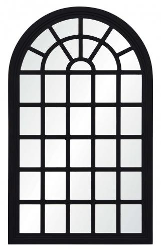 Cali Irregular Mirror - Rustic Black