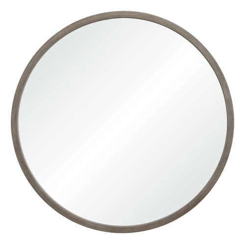 Birman Round Mirror - Gray