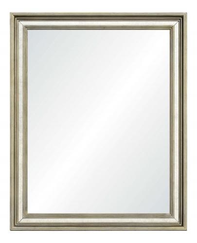 Carmo Rectangular Mirror - Champagne Silver Leaf