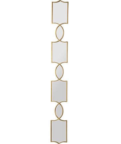 Alta Irregular Mirror - Gold Leaf