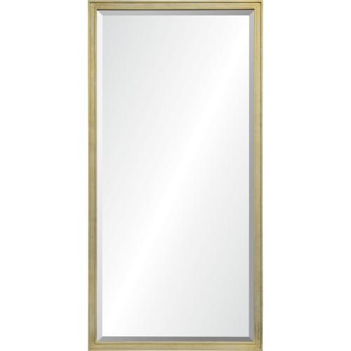 Barwell Rectangle Mirror - Light Gold Leaf
