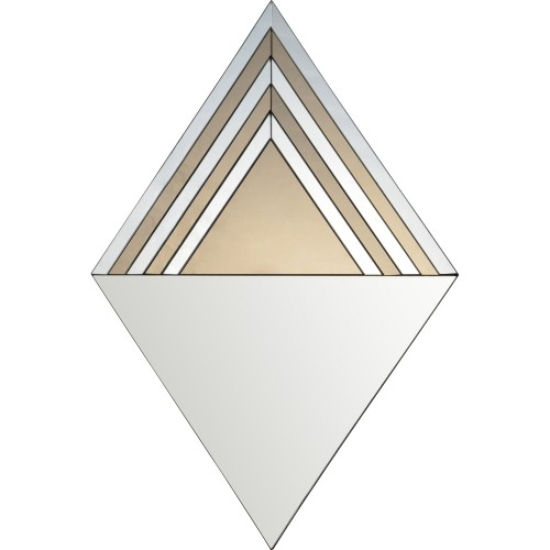 Impression Irregular Mirror - Grey