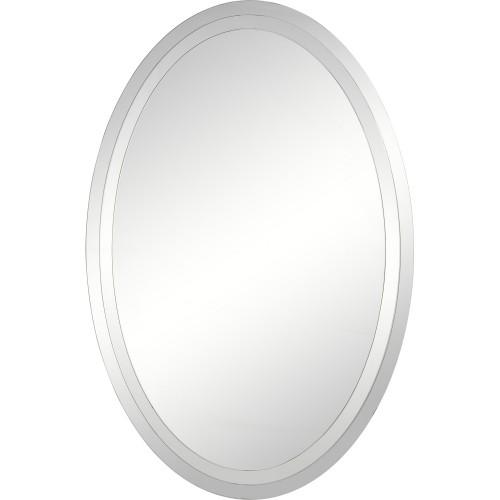 Include Oval Mirror - Mirror